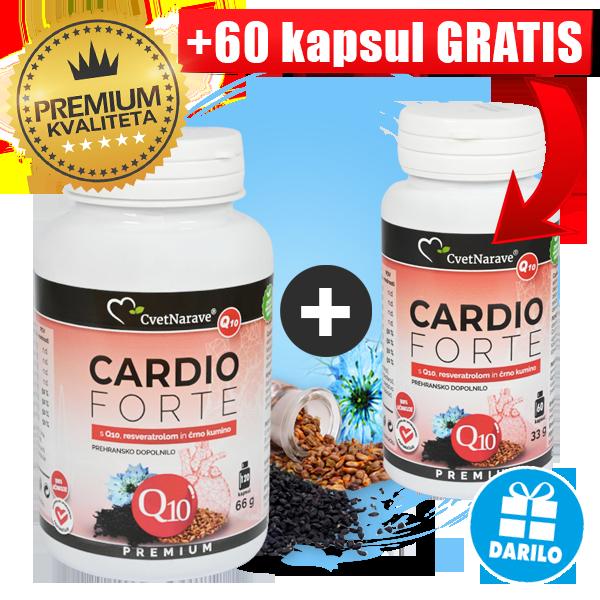 Q10 resveratrol arginin kapsule